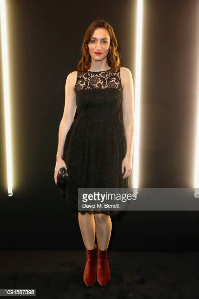 Cara Horgan attends the dunhill PreBAFTA dinner at dunhill Bourdon House on February 6 2019 in London England