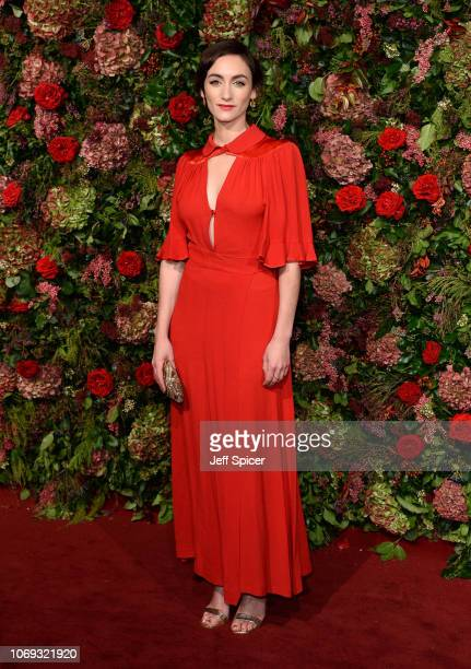 Cara Horgan attends the Evening Standard Theatre Awards 2018 at the Theatre Royal on November 18 2018 in London England