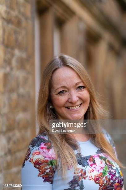 Cara Hunter crime writer at the Oxford Literary Festival 2019 on April 3 2019 in Oxford England