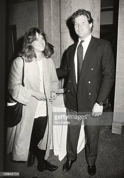 Cara Kennedy and Ted Kennedy Jr during First Public Exhibition and Benefit Auction of Art by Henry Fonda at Sotheby's in New York New York United...