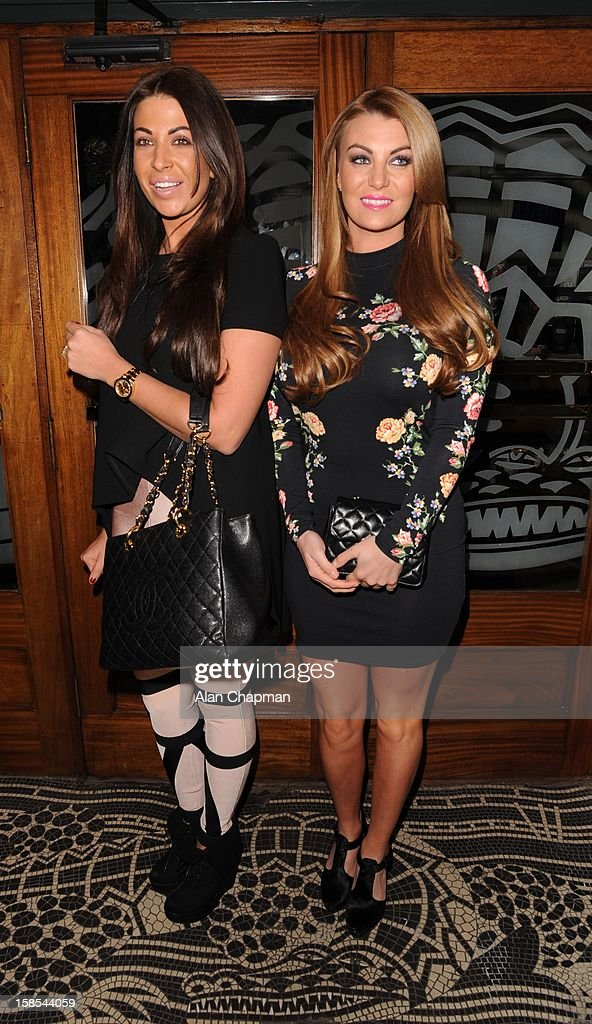 Cara Kilbey and Billi Mucklow sighting at the Groucho Club on December 18, 2012 in London, England.