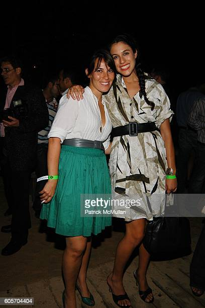 Cara L Zolot and Abbey Drucker attend Jonathan Cheban Kritik Clothing Launch at Pink Elephant on July 1 2006 in Southampton NY