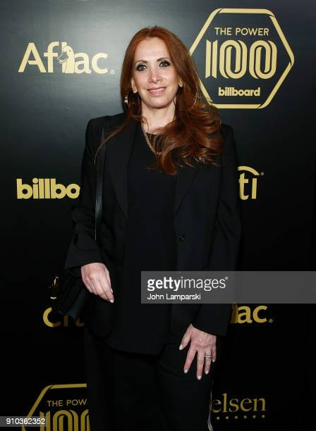 Cara Lewis attends 2018 Billboard Power 100 List at Nobu 57 on January 25 2018 in New York City
