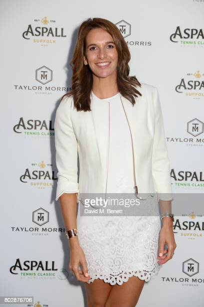 Cara Robinson attends the Taylor Morris Eyewear x Aspall Tennis Classic Player's Party at Bluebird Chelsea on June 28 2017 in London England
