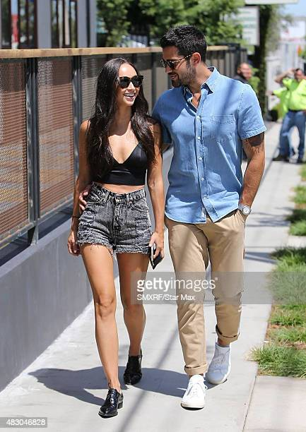 Cara Santana and Jesse Metcalfe are seen on August 5 2015 in Los Angeles California