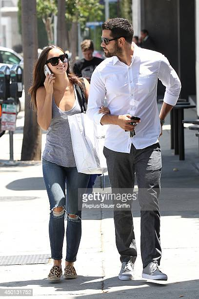 Cara Santana and Jesse Metcalfe are seen on June 05 2014 in Los Angeles California