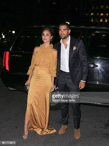Cara Santana and Jesse Metcalfe are seen on September 09 2016 in New York City