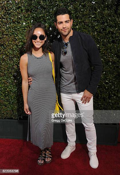 Cara Santana and Jesse Metcalfe arrive at the 13th Annual Stuart House Benefit at John Varvatos on April 17 2016 in Los Angeles California
