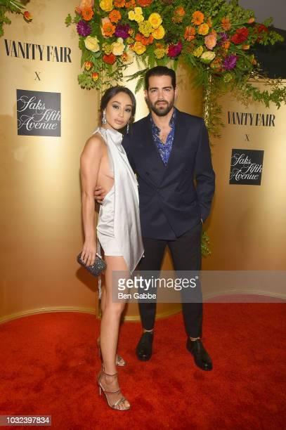 Cara Santana and Jesse Metcalfe attend as Vanity Fair and Saks Fifth Avenue celebrate Vanity Fair's BestDressed 2018 at Manhatta on September 12 2018...