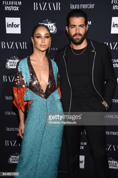 Cara Santana and Jesse Metcalfe attend Harper's BAZAAR Celebration of 'ICONS By Carine Roitfeld' at The Plaza Hotel presented by Infor Laura Mercier...