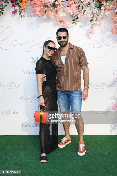 Cara Santana and Jesse Metcalfe attend Rosé Day Miami at 1 Hotel South Beach on December 07 2019 in Miami Florida