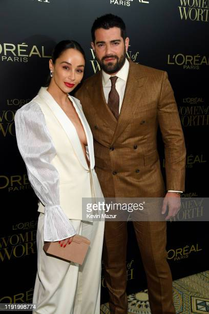 Cara Santana and Jesse Metcalfe attend the 14th Annual L'Oréal Paris Women Of Worth Awards at The Pierre on December 04 2019 in New York City