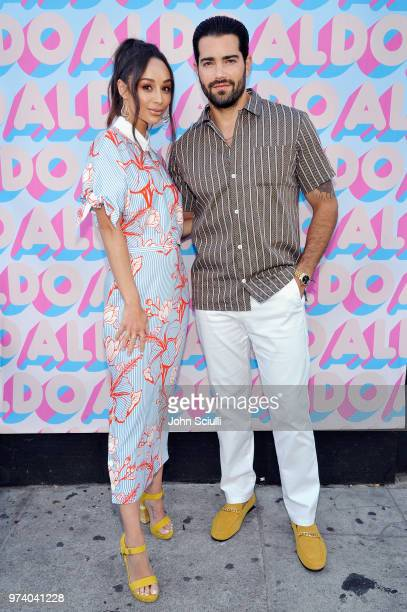 Cara Santana and Jesse Metcalfe attend the Aldo LA Nights 2018 at The Rose Room on June 13 2018 in Venice California