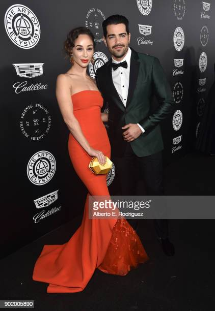 Cara Santana and Jesse Metcalfe attend The Art Of Elysium's 11th Annual Celebration on January 6 2018 in Santa Monica California