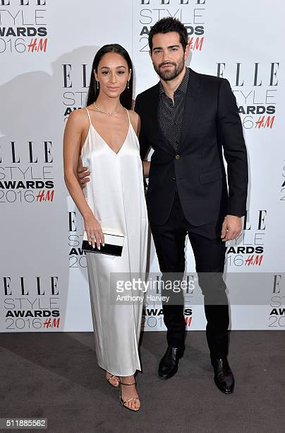 Cara Santana and Jesse Metcalfe attend The Elle Style Awards 2016 on February 23 2016 in London England