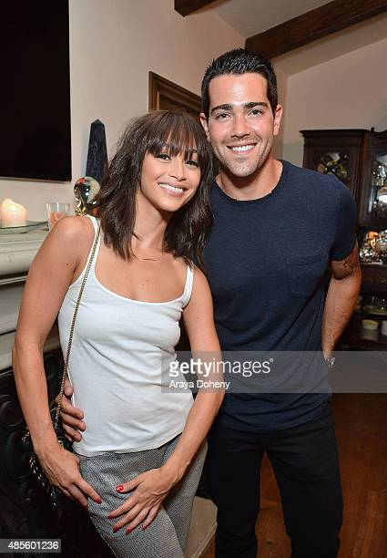 Cara Santana and Jesse Metcalfe attend the KEEP Collective Accessories Social To Benefit The Kind Campaign on August 25 2015 in Los Angeles California