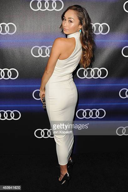Cara Santana arrives at Audi Emmy Week Celebration at Cecconi's Restaurant on August 21 2014 in Los Angeles California