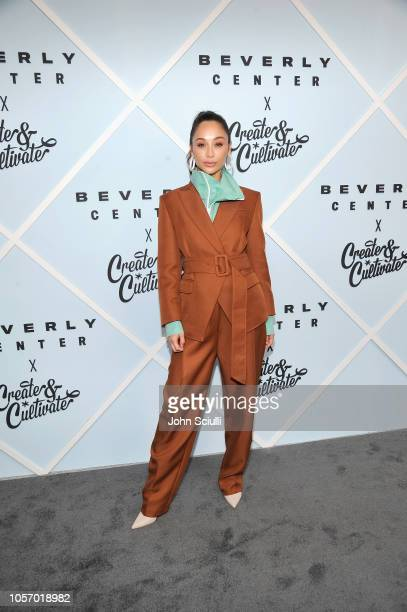 Cara Santana arrives at Beverly Center's Grand Reveal Weekend Everyone Welcome with Create Cultivate at Beverly Center on November 3 2018 in Los...