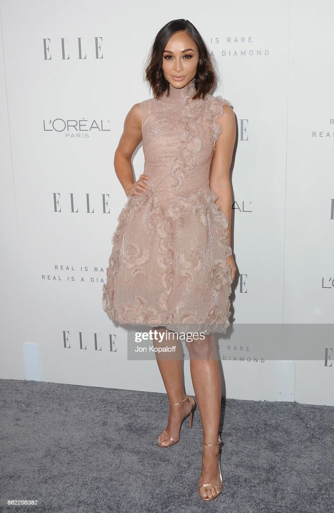 Cara Santana arrives at ELLE's 24th Annual Women in Hollywood Celebration at Four Seasons Hotel Los Angeles at Beverly Hills on October 16, 2017 in Los Angeles, California.