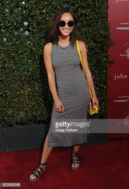 Cara Santana arrives at the 13th Annual Stuart House Benefit at John Varvatos on April 17 2016 in Los Angeles California