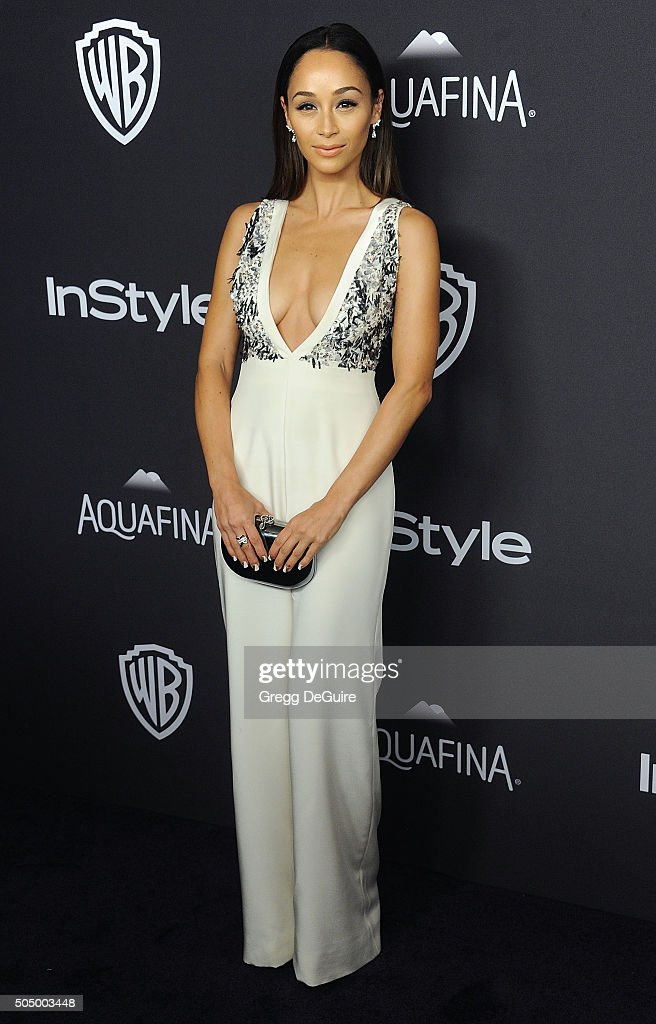 Cara Santana arrives at the 2016 InStyle And Warner Bros. 73rd Annual Golden Globe Awards Post-Party at The Beverly Hilton Hotel on January 10, 2016 in Beverly Hills, California.