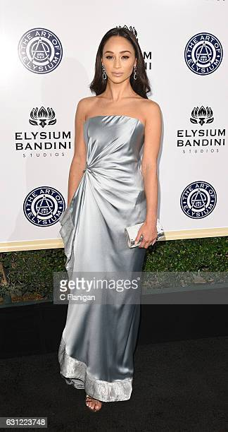 Cara Santana arrives at The Art of Elysium presents Stevie Wonder's HEAVEN Celebrating the 10th Anniversary at Red Studios on January 7 2017 in Los...