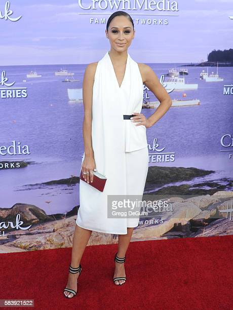 Cara Santana arrives at the Hallmark Channel and Hallmark Movies and Mysteries Summer 2016 TCA Press Tour Event on July 27 2016 in Beverly Hills...