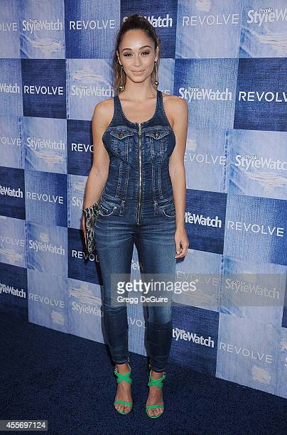 Cara Santana arrives at the People StyleWatch 4th Annual Denim Awards Issue at The Line on September 18, 2014 in Los Angeles, California.