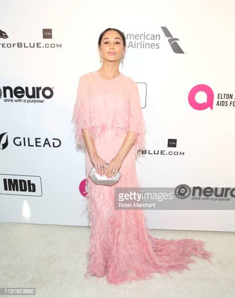 Cara Santana attends 27th Annual Elton John AIDS Foundation Academy Awards Viewing Party Celebrating EJAF And The 91st Academy Awards on February 24...