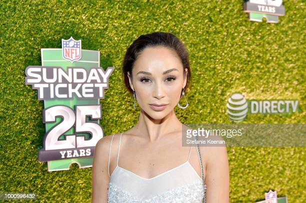 Cara Santana attends DIRECTV CELEBRATES 25th Season of NFL SUNDAY TICKET at Nomad Hotel Los Angeles on July 17 2018 in Los Angeles California