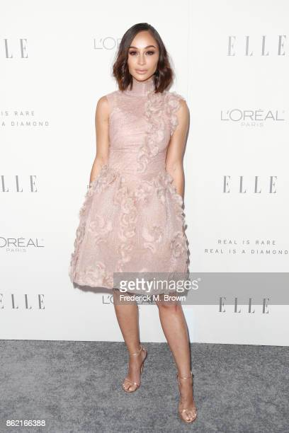 Cara Santana attends ELLE's 24th Annual Women in Hollywood Celebration at Four Seasons Hotel Los Angeles at Beverly Hills on October 16 2017 in Los...