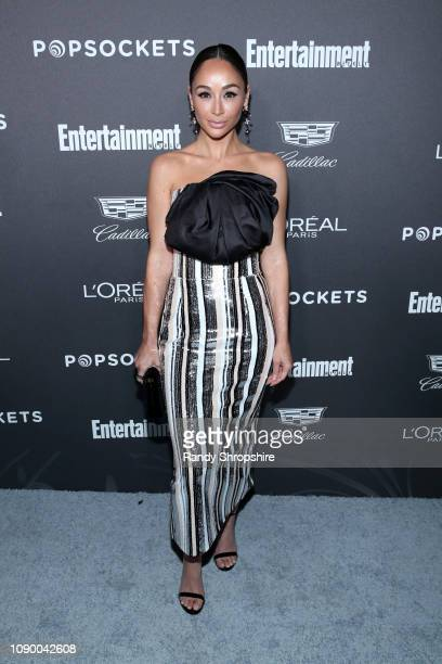 Cara Santana attends Entertainment Weekly Celebrates Screen Actors Guild Award Nominees sponsored by L'Oreal Paris Cadillac And PopSockets at Chateau...