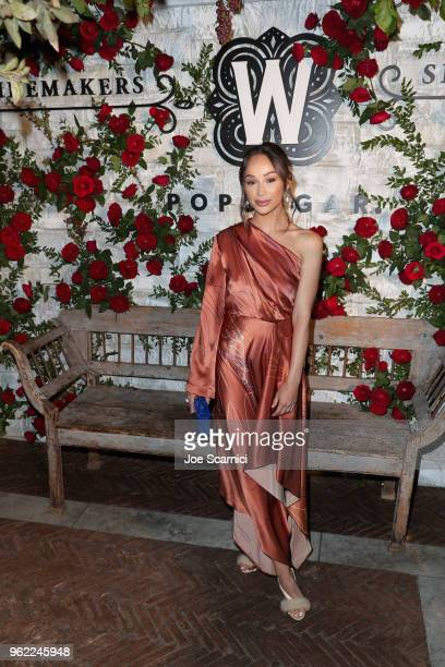 Cara Santana attends POPSUGAR x Winemaker's Selection Launch at AOC on May 24 2018 in Los Angeles California