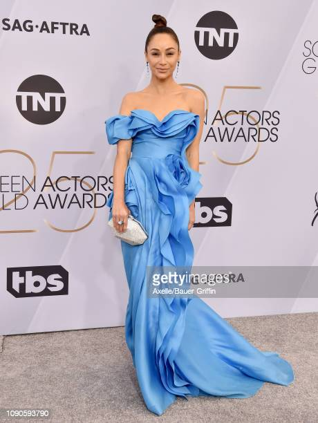 Cara Santana attends the 25th Annual Screen Actors Guild Awards at The Shrine Auditorium on January 27 2019 in Los Angeles California