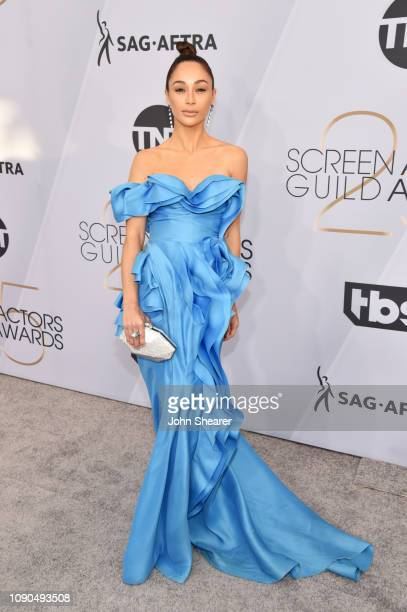Cara Santana attends the 25th Annual Screen ActorsGuild Awards at The Shrine Auditorium on January 27 2019 in Los Angeles California