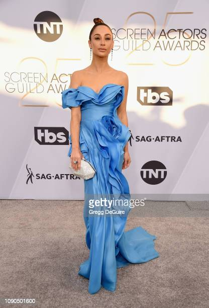 Cara Santana attends the 25th Annual Screen ActorsGuild Awards at The Shrine Auditorium on January 27 2019 in Los Angeles California 480645