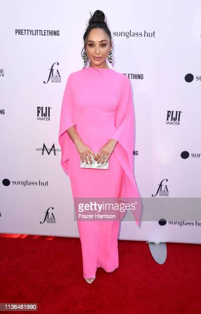 Cara Santana attends the Daily Front Row's 5th Annual Fashion Los Angeles Awards at Beverly Hills Hotel on March 17 2019 in Beverly Hills California