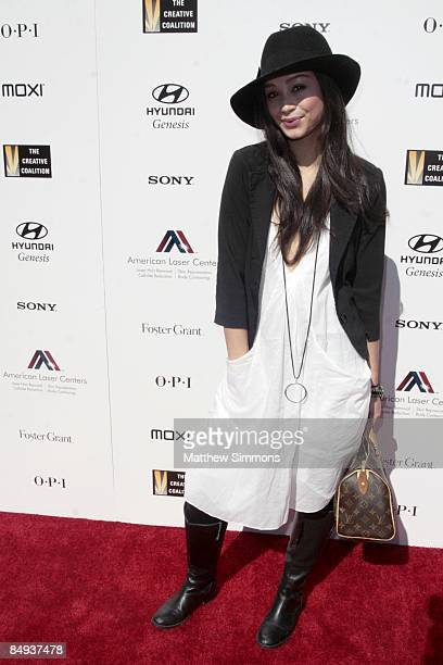 Cara Santana attends the Haven House Oscar Suite at the Haven on February 19 2009 in Beverly Hills California