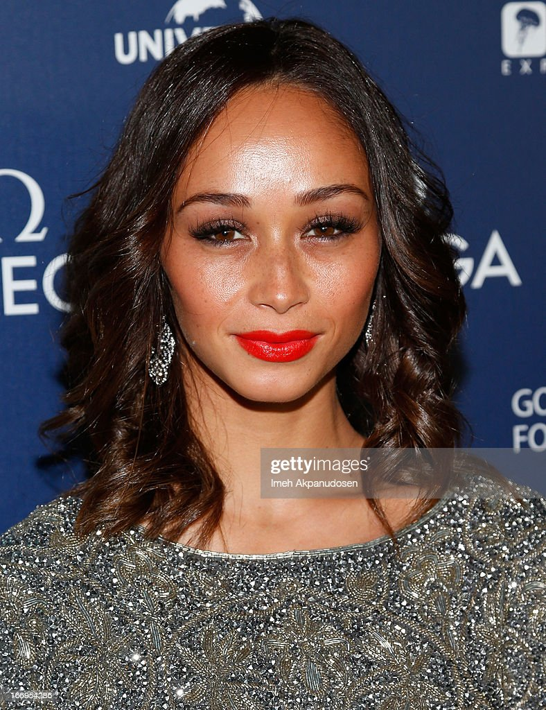 Cara Santana attends the premiere of 'Planet Ocean' at Pacific Design Center on April 18, 2013 in West Hollywood, California.