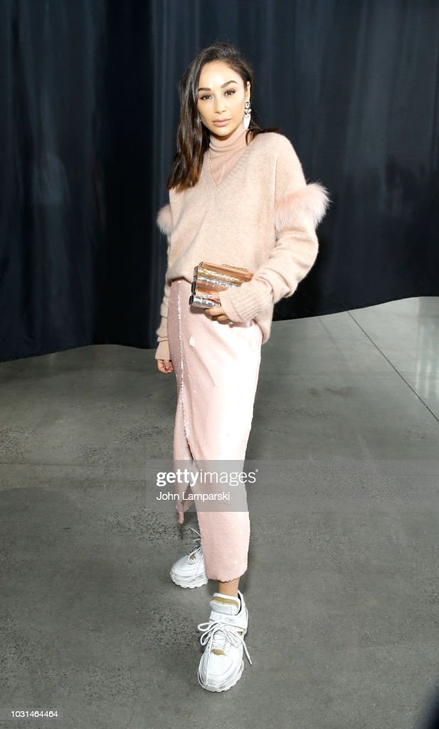 Sally LaPointe - Front Row - September 2018 - New York Fashion Week: The Shows : News Photo