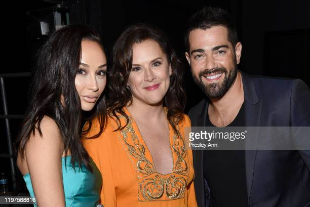Cara Santana Founder of The Art of Elysium Jennifer Howell and Jesse Metcalfe pose during The Art Of Elysium Presents WE ARE HEAR'S HEAVEN 2020 at...