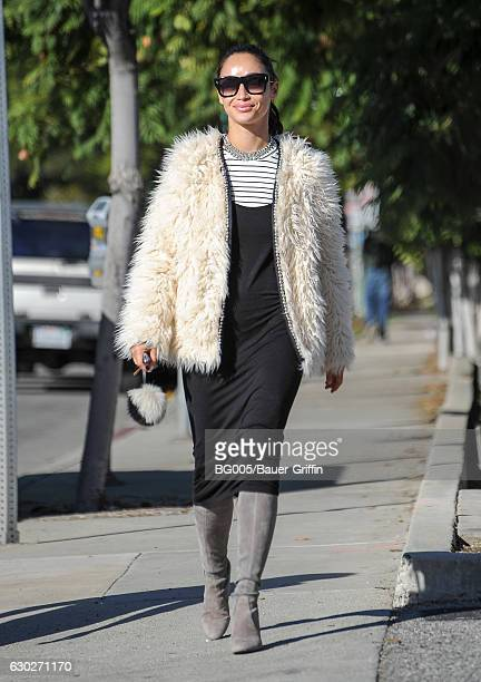 Cara Santana is seen on December 19 2016 in Los Angeles California