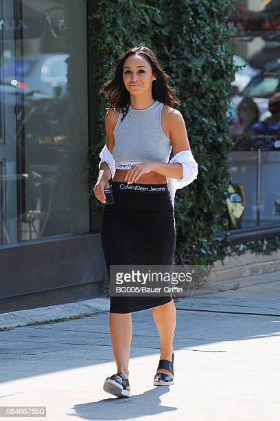 Cara Santana is seen on July 29 2016 in Los Angeles California