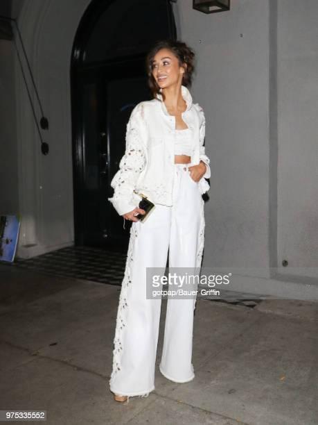 Cara Santana is seen on June 14 2018 in Los Angeles California