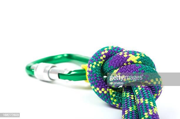 Karabiner und Seil