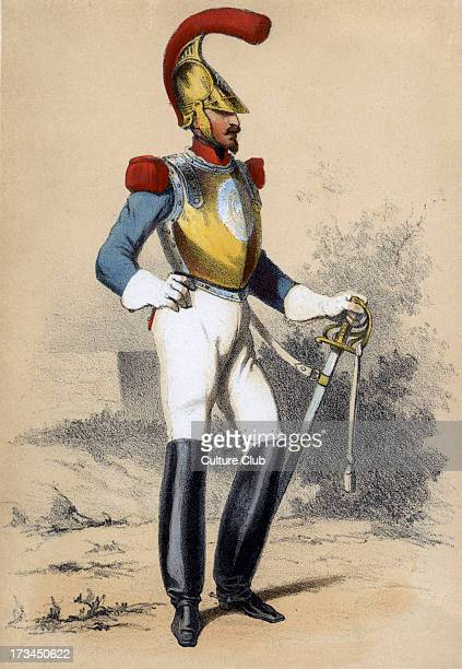 member of the military police in the Army of the Second French Empire From series 'Paris au XIX Siècle' c185556