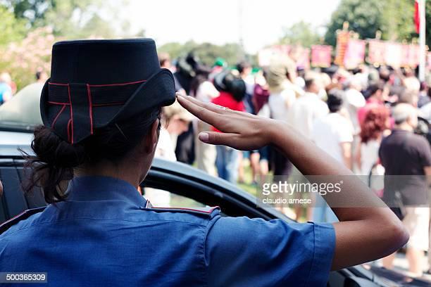 Carabiniere. Color Image