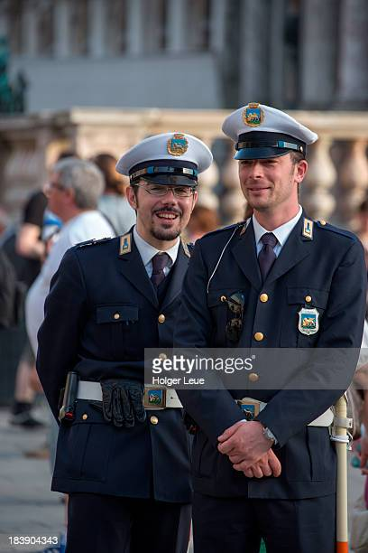 Carabinieri police officers at Piazza San Marco