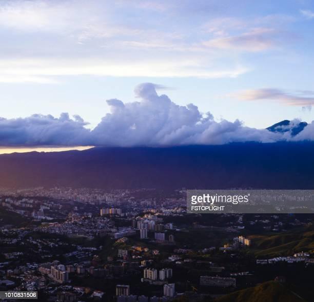 Caracas city early morning