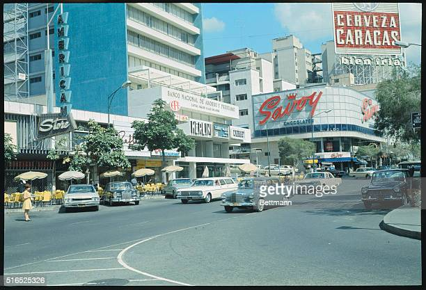 Caracas, Venezuela: Sabana Grande, Caracas' plush shopping district, is dotted with sidewalk cafes, showing the influence of half a million Spanish...